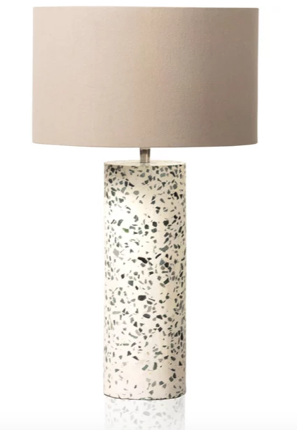 Terrazzo table lamp from Oliver Bonas